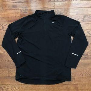 Nike 1/4 Zip Nike Running Dri-Fit Men's L Pullover